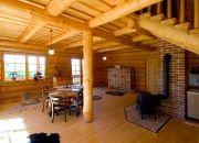 Přírodní barva na dřevo pro interiér srubu - Kreidezeit