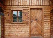 Odolná barva na dřevo pro roubenky, sruby - Kreidezeit